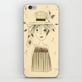 Betty Lou In Wheat iPhone Skin