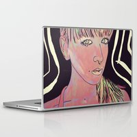 interstellar Laptop & iPad Skins featuring Interstellar Comunications by Estelle F