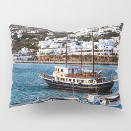 Mykonos, Greece. Pillow Sham