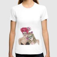dia de los muertos T-shirts featuring Dia de los muertos by alicetischer