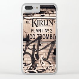 Plant No. 2 Clear iPhone Case