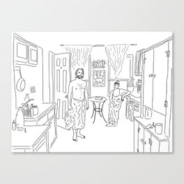 Knickerbocker Ave. Canvas Print
