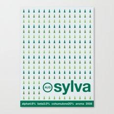 sylva single hop Canvas Print