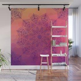 Happy Mandala Wall Mural
