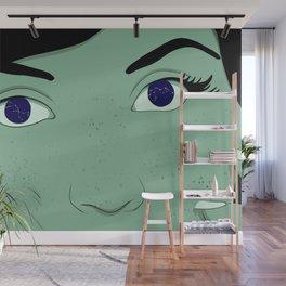 Stars in Her Eyes Wall Mural