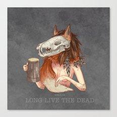 Long live the dead - Fox Canvas Print