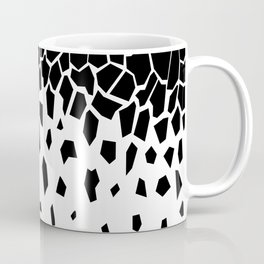 Black Fragments invert Coffee Mug