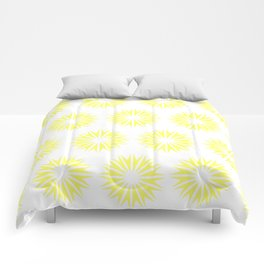 Lemonade Modern Sunbursts Comforters