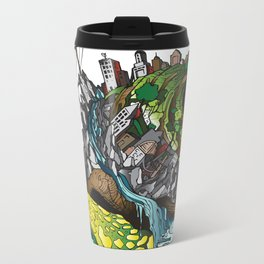 The Church is on Fire Metal Travel Mug
