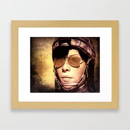 Guard Duty Framed Art Print