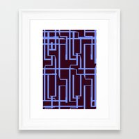 deco Framed Art Prints featuring Deco  by Keri Sheehan