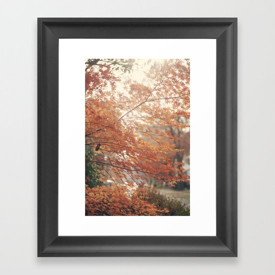 Home for Thanksgiving Framed Art Print