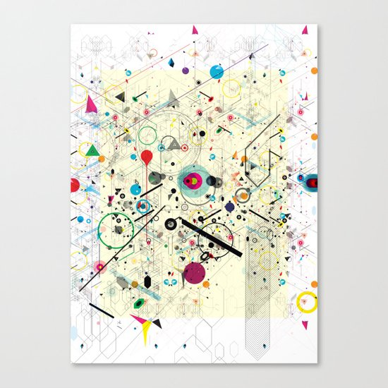 Virtual Chaos 2 Canvas Print