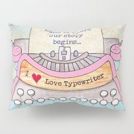 Typewriter #5 Pillow Sham
