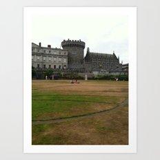 Dublin Castle Art Print