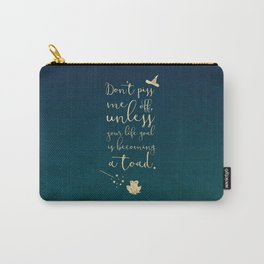 Don't piss me off muggle Carry-All Pouch