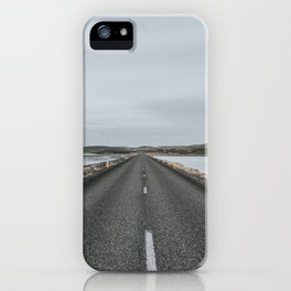 Empty Road - A Love Story iPhone Case