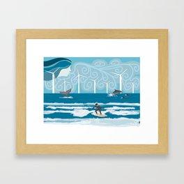 Harmony with the Sea Framed Art Print