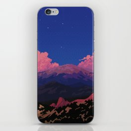 Sunset at Garden of the Gods iPhone Skin