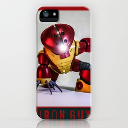 iron guy iPhone Case