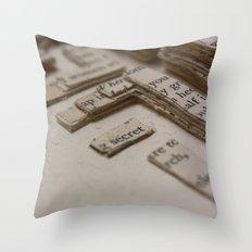 Book Art Maze 2 Throw Pillow