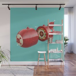 Candy bomb Wall Mural