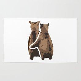 BEAR COUPLE Rug