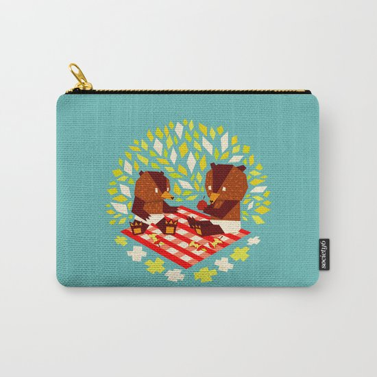 picknick bears Carry-All Pouch