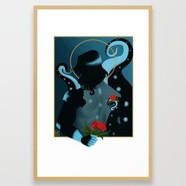 Love Confession Framed Art Print