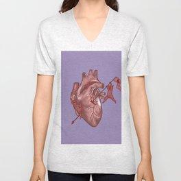 Pandemonium of the Heart Unisex V-Neck