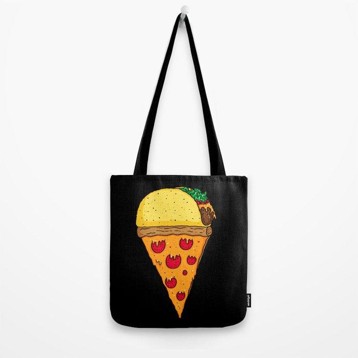 Taco Pizza Cone Tote Bag