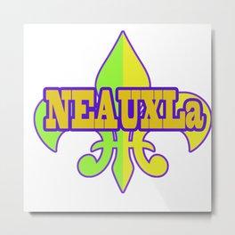 NeauxLa - For the Love of New Olreans (NOLA) Metal Print