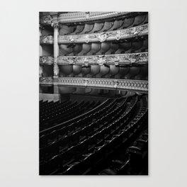 The Opera Seat Canvas Print