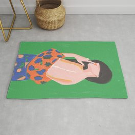 Feminine Instinct - Woman Beauty 1 Rug
