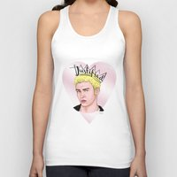 ramen Tank Tops featuring Top Ramen Man by Colie Rochelle