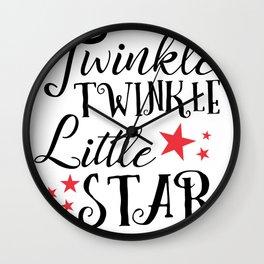 Twinkle Tinkle Little Star Wall Clock