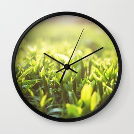 Freshness in the morn Wall Clock