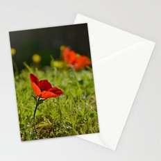 Solitary Anemone Stationery Cards