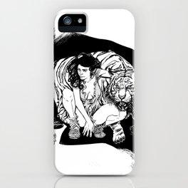 Tyger! Tyger! Burning bright iPhone Case