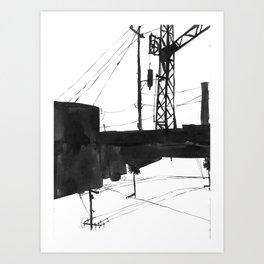Railway IV Art Print