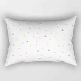 glaze and mixed decorative sprinkles Rectangular Pillow