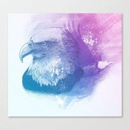 Animal Spirit Eagle Canvas Print