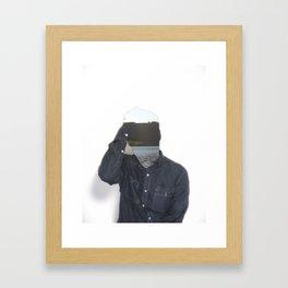 Absent 001 Framed Art Print