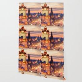 CLOCK TOWER-EDINBURGH Wallpaper