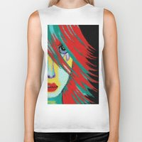 indie Biker Tanks featuring Mosaic Indie by Sartoris ART