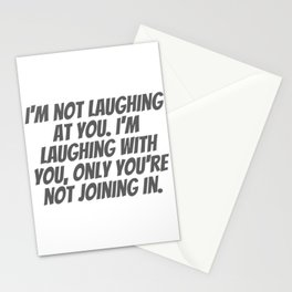 Laughing With You Stationery Cards