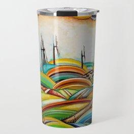 Il Camino de Santiago - Windmills Travel Mug