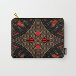 buffalo gathering Red Carry-All Pouch