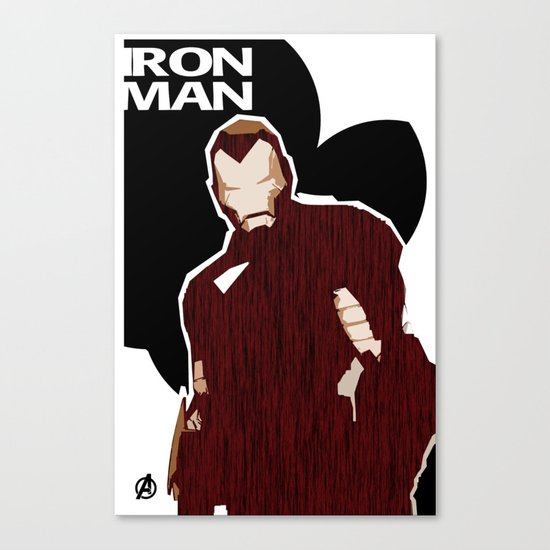 Ironman Canvas Print