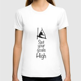 "Aeriaist ""Set your goals High"" Graphic T-shirt"